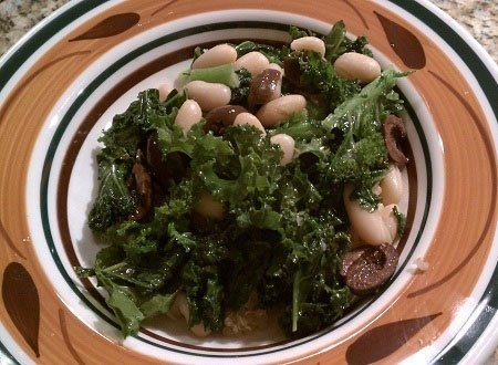 Beans, Kale, and Quinoa