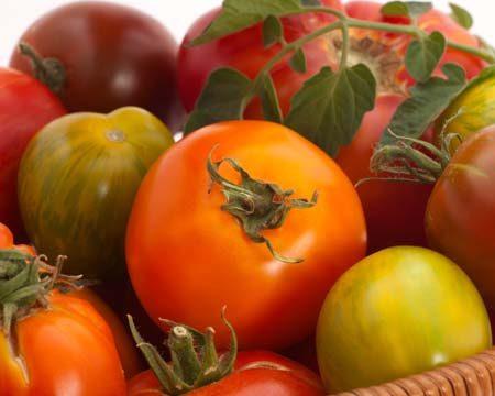 Smoked Mozzarella & Heirloom Tomato Salad Recipe