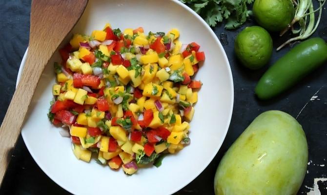 Indian Mango Salsa