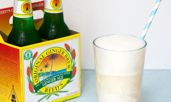 Bourbon Vanilla and Ginger Beer Float