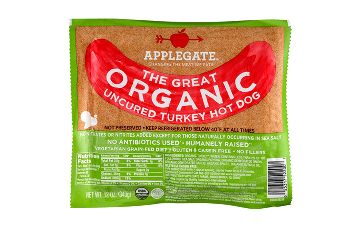 Applegate Organic Hot Dogs Healthy