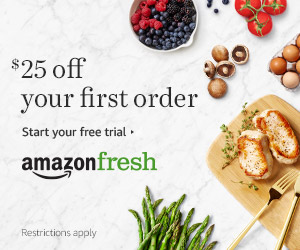 Amazon Fresh $30 Off Your First Order