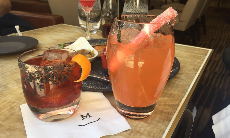 Measure Lounge cocktails
