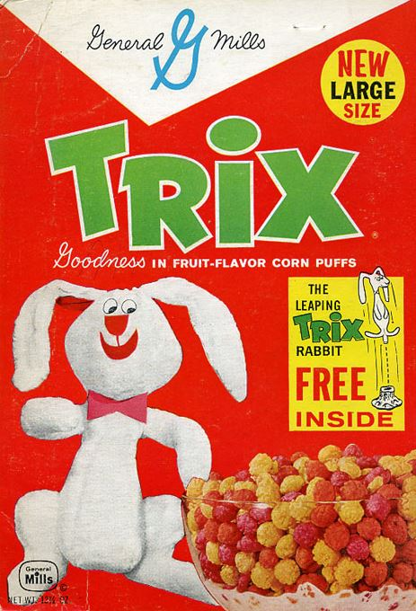 trix looks absolutely nothing like you remember it looking when you