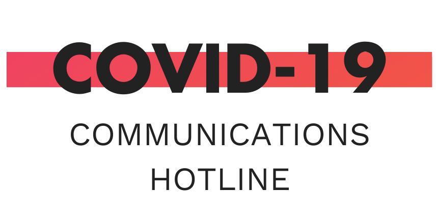 Introducing the COVID-19 Communications Strategy Hotline