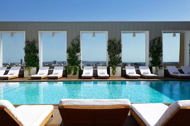 Skybar at the Mondrian Los Angeles
