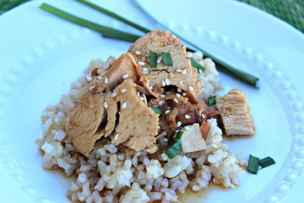 The Wife of a Dairy Man — Crock-Pot Honey Teriyaki Chicken