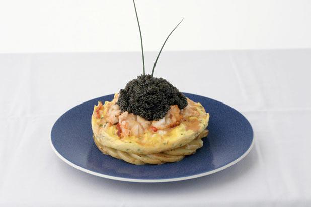 Zillion Dollar Lobster Frittata — Norma's, New York City