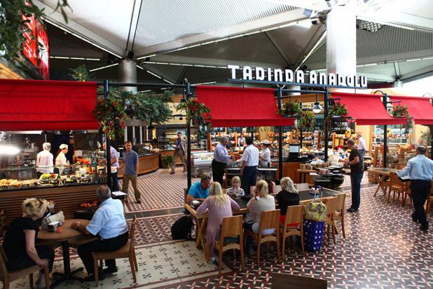 34. Tadinda Anadolu (Istanbul Atatürk Airport — Istanbul)