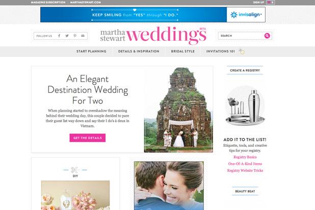 4. Martha Stewart Weddings: The Bride's Guide