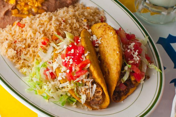 5) El Real Tex-Mex Café, Houston: Chicken Puffy Taco