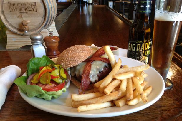 7) Half-Pound Niman Ranch Cheeseburger, Mustards Grill (Napa, Calif.)