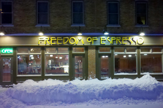 Best Shop Near Syracuse University: Freedom of Espresso