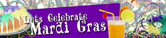 Let's Celebrate Mardi Gras