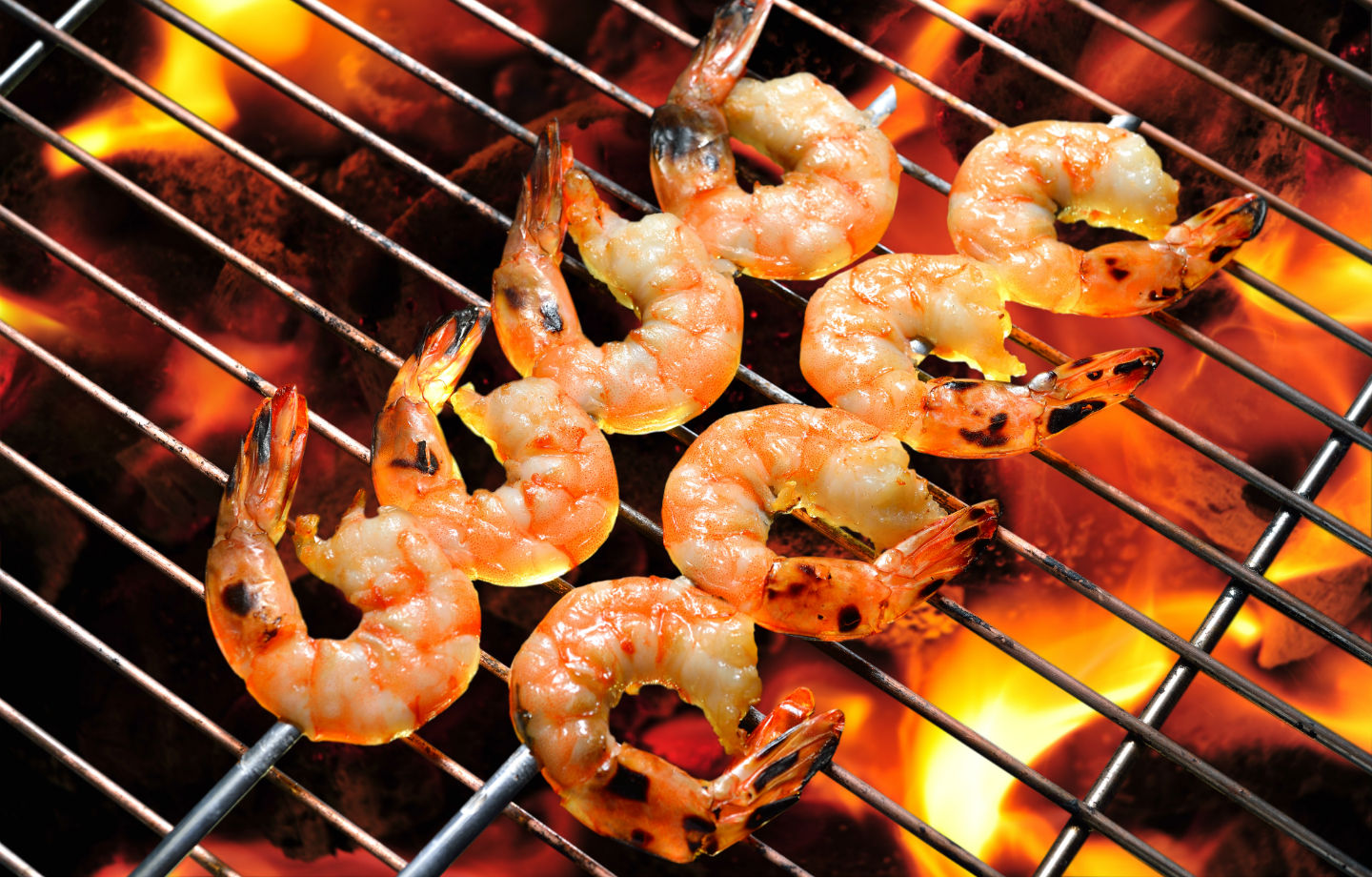 Grilled Shrimp With Honey-Ginger Barbecue Sauce Recipe by Hannah ...