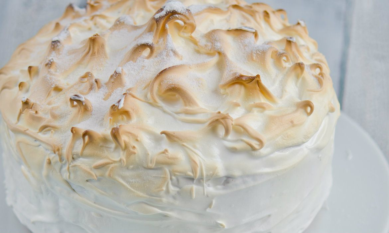 Marshmallow Peppermint Cake