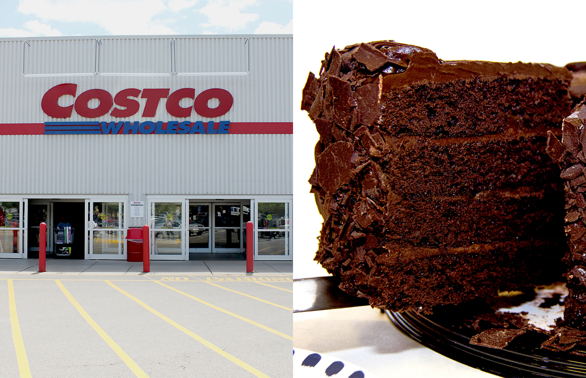 Remarkable Costcos All American Chocolate Cake Is A Bargain And Weighs 7 Personalised Birthday Cards Epsylily Jamesorg