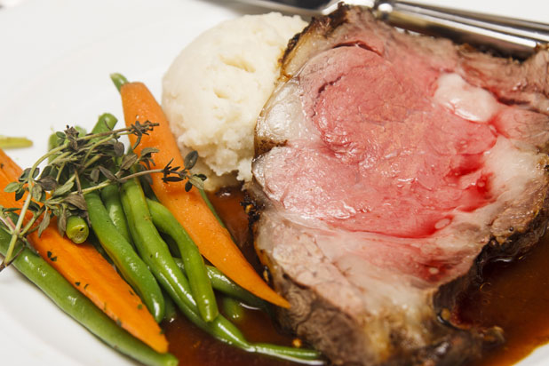 Roast Rib of Beef by chef Marcus Gleadow-Ware