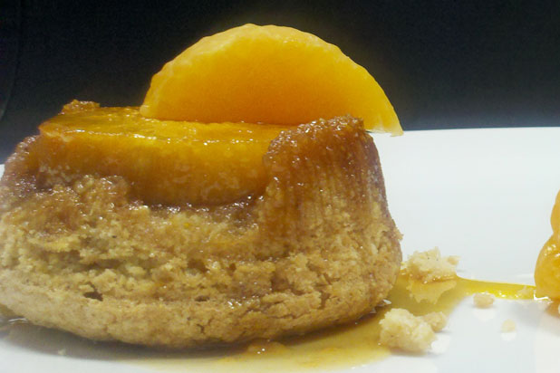 Persimmon Upside-Down Cake by chef Ashley Weaver