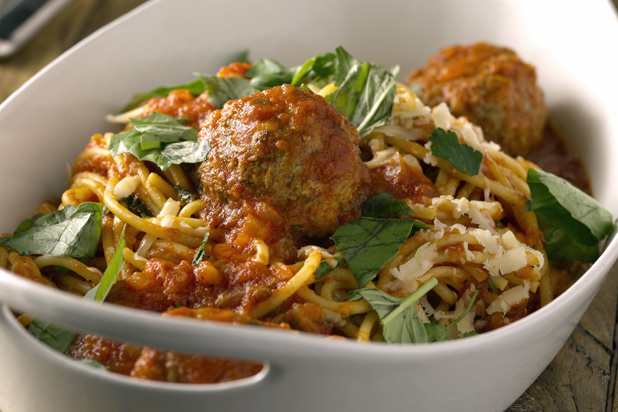 Recipe: Bobby Flay's Spaghetti and Meatballs