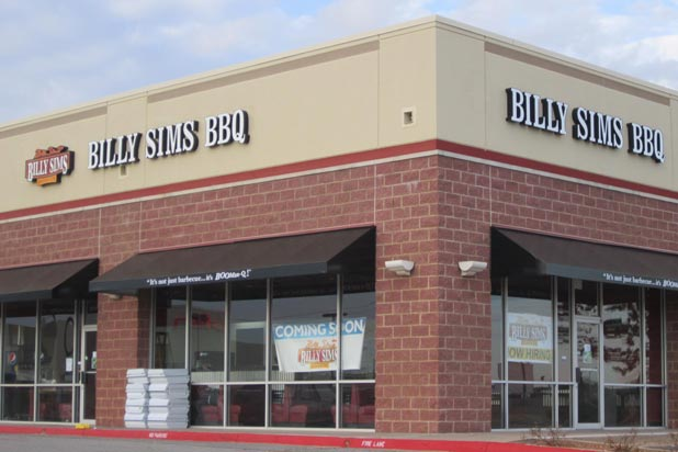 18) Billy Sims Barbecue — Billy Sims (Various Locations)