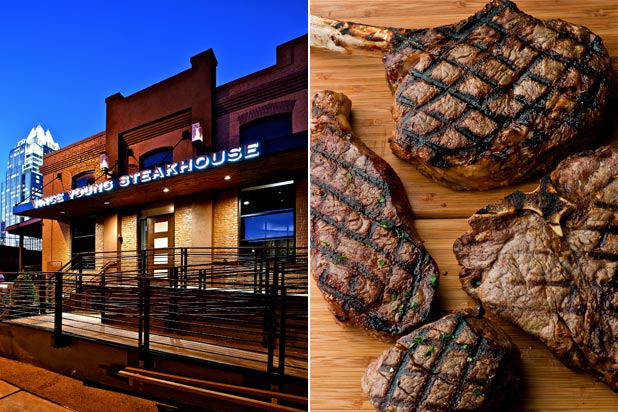 9) Vince Young Steakhouse — Vince Young (Austin, Texas)