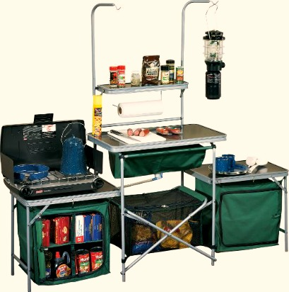 What to Bring: Portable Camp Kitchen