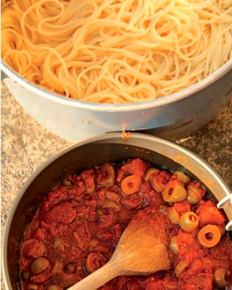 What to Make: Simple Spaghetti