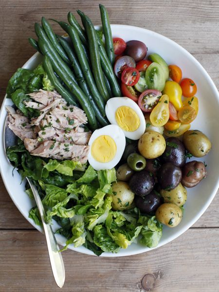 after salad