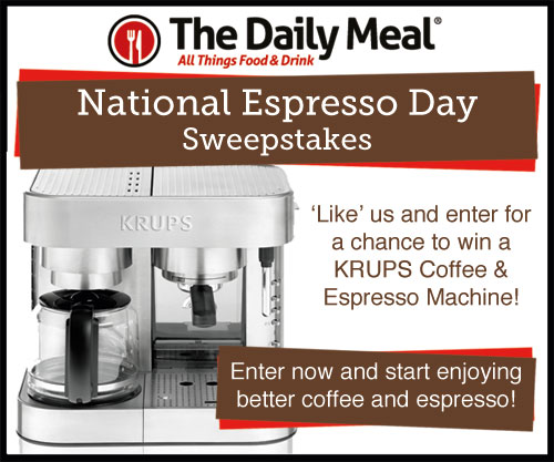National Espresso Day Black Friday Sweepstakes