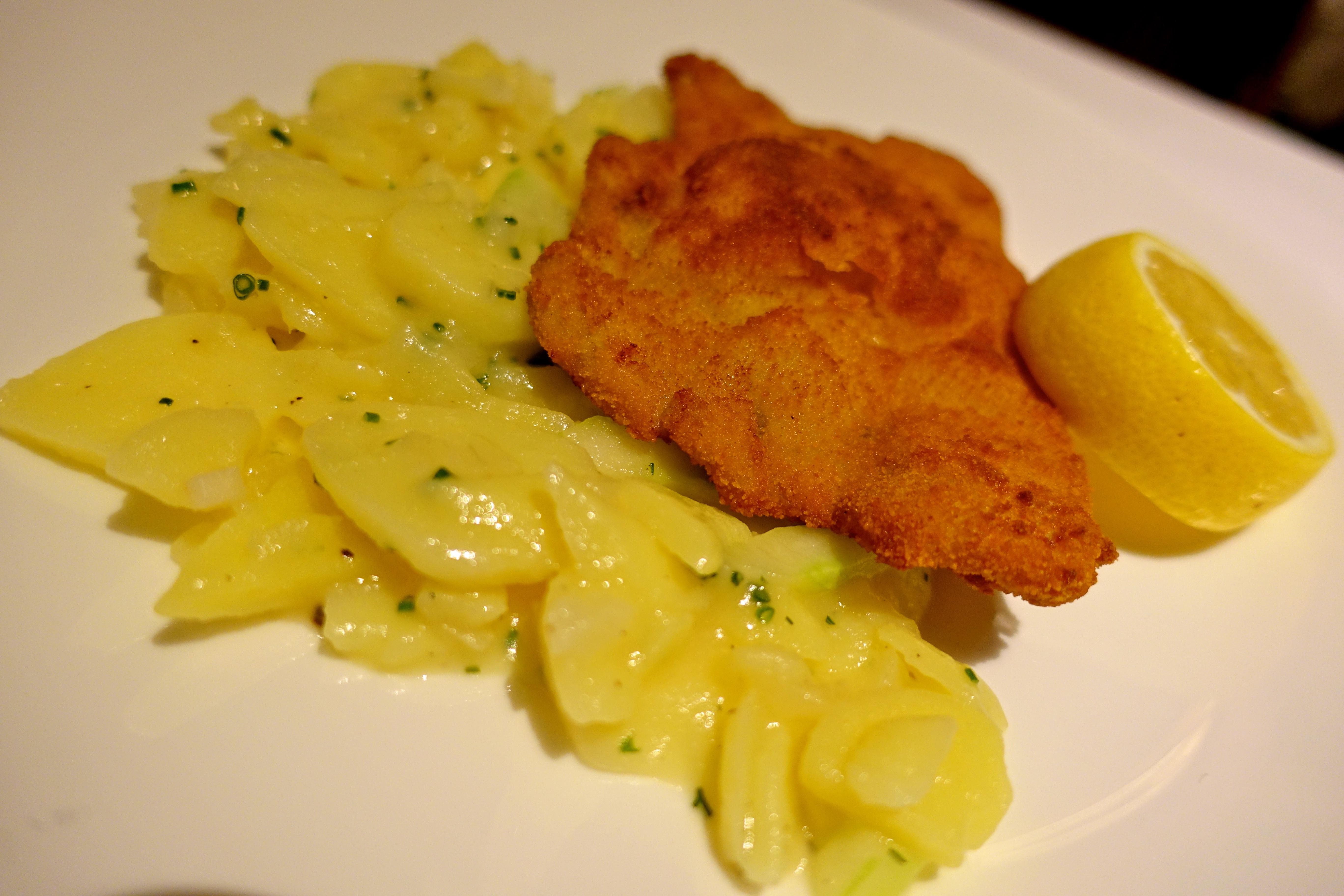 Restaurant Quarre, weiner schnitzel