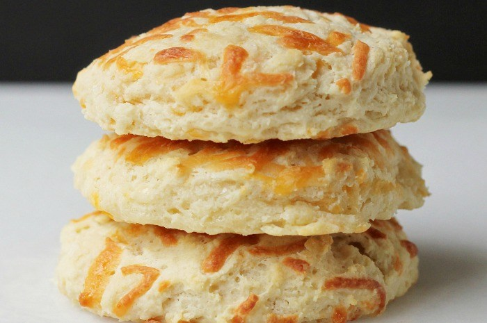 Simple Cheesy Biscuits