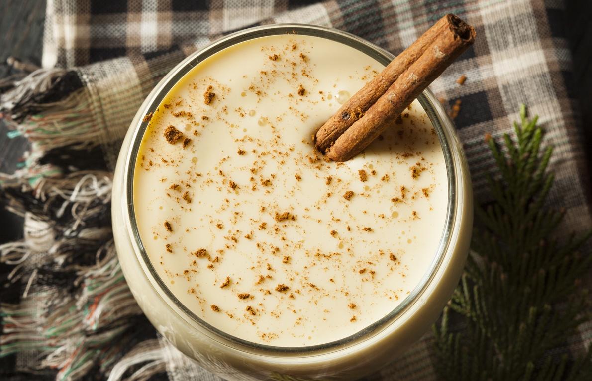 This is a comforting combo of cornmeal, sugar, vanilla, and cinnamon.