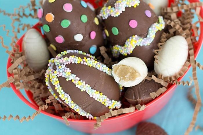 Cookie Dough Surprise Easter Eggs