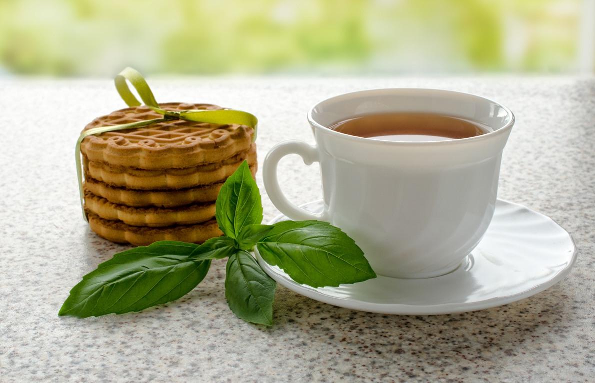 Kết quả hình ảnh cho Basil tea