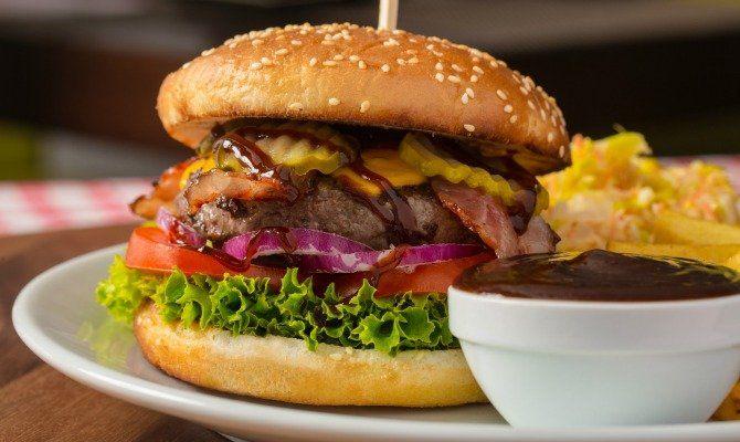 Bourbon Barbecue Sauce Burger
