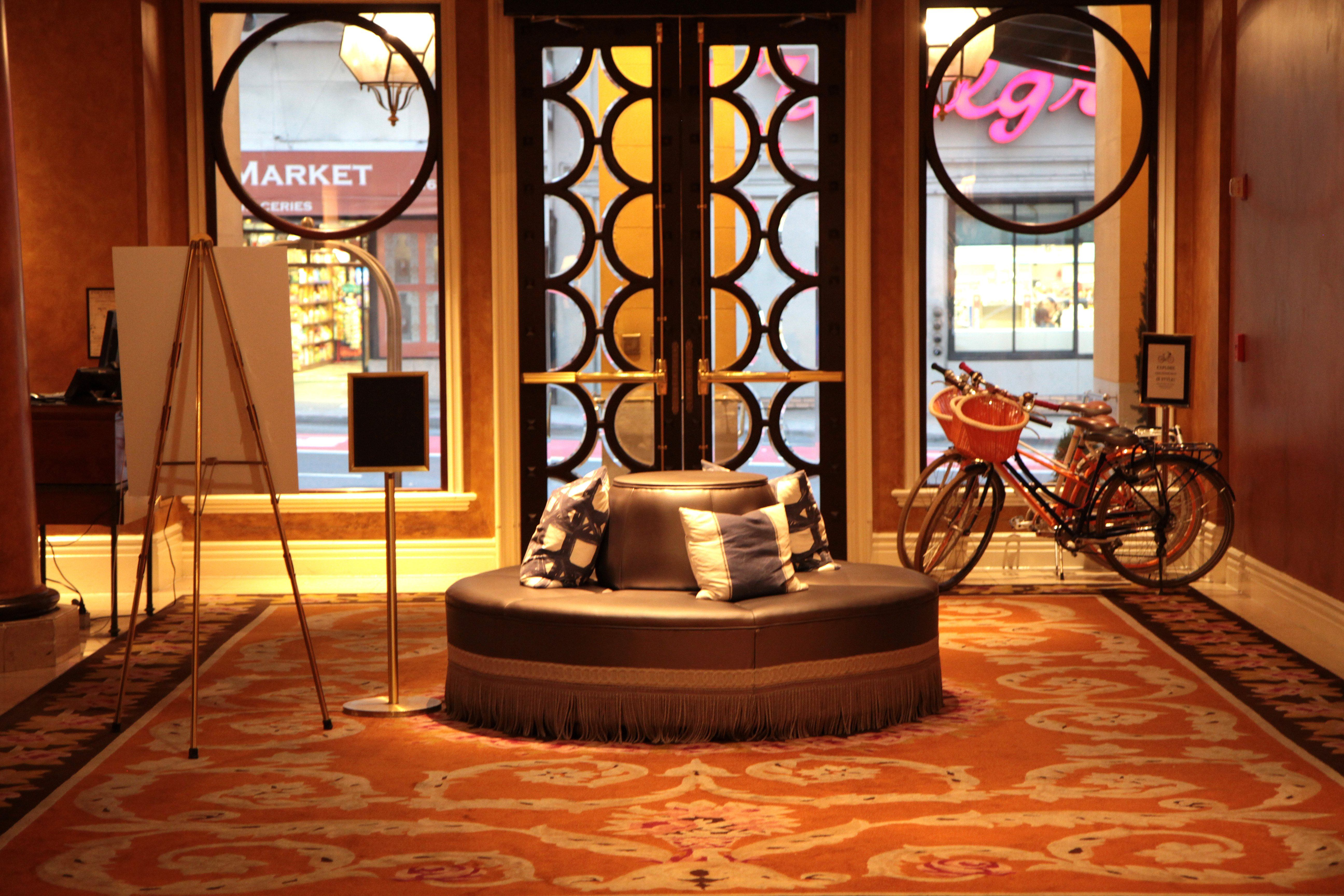 Hotel lobby at The Marker