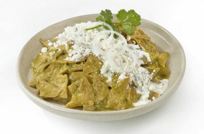 Green Chilaquiles Recipe