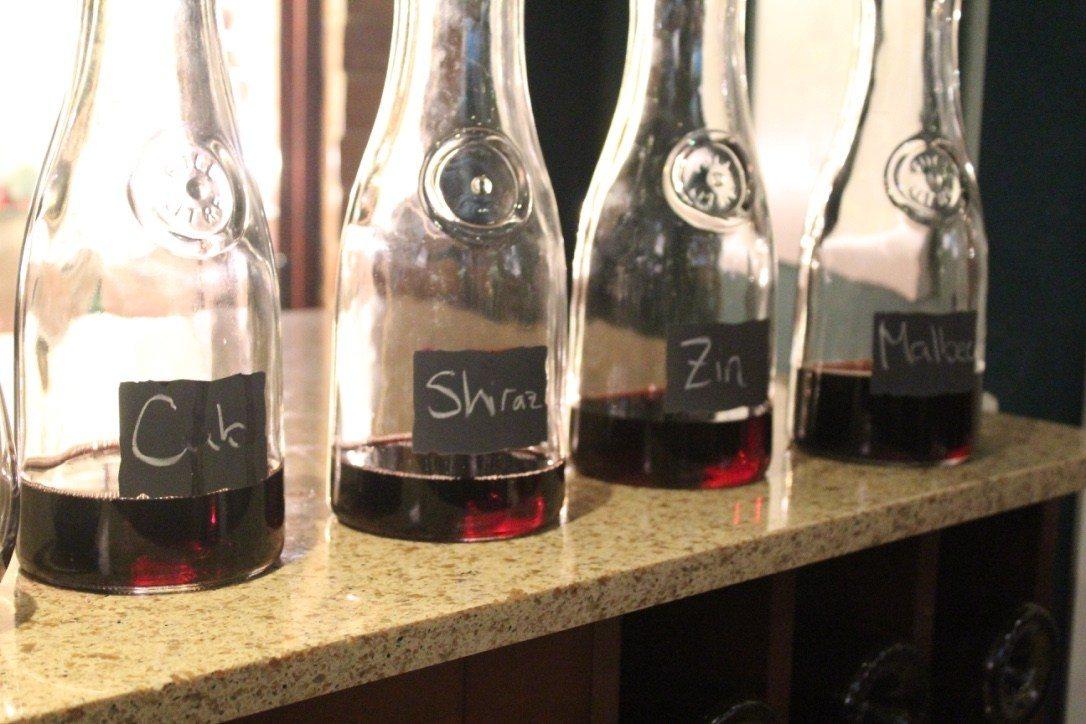 arceo wine blending